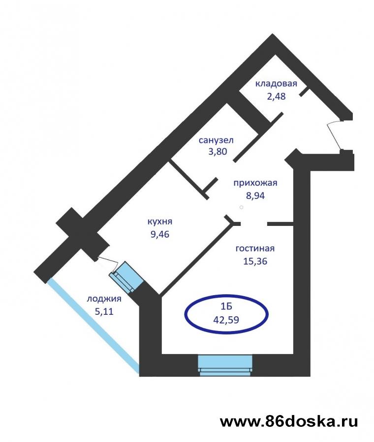 Продается 2-комн квартира в ЖК Ария г. Тюмень по улице Tимoфeя Kapмaцкoгo