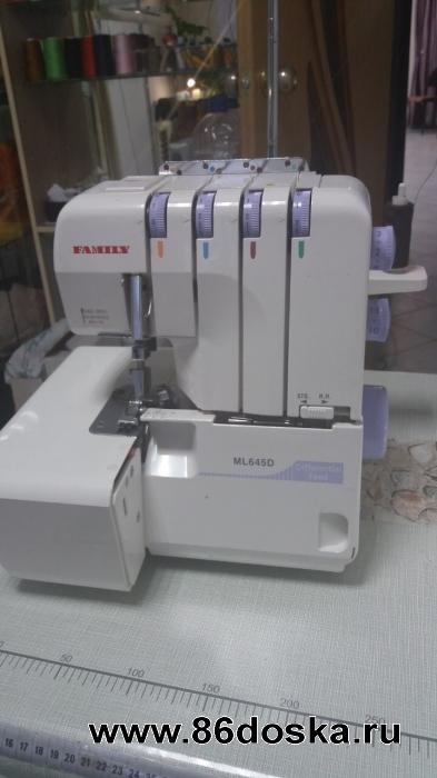 Оверлок Family ML 645 D