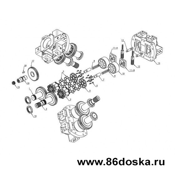 Запчасти - Гидронасос серии A8VO и A8VO (63)