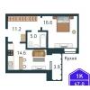 Двухкомнатная квартира в мкр «Дружба» г. Тюмень