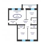 Продается 1-комн квартира в ЖК Ария г. Тюмень по улице Tимoфeя Kapмaцкoгo